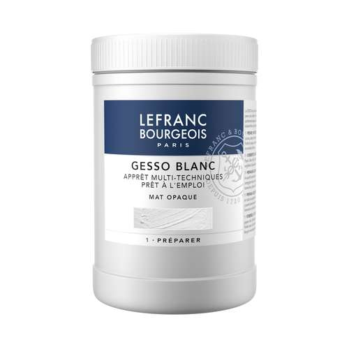 LEFRANC & BOURGEOIS GESSO wit. mat, opaak