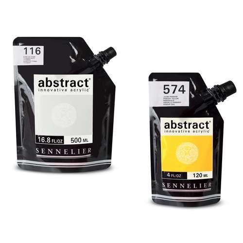 Peinture Acrylique Abstract de Sennelier (éco-pack)